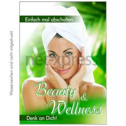 Poster Beauty und Wellness
