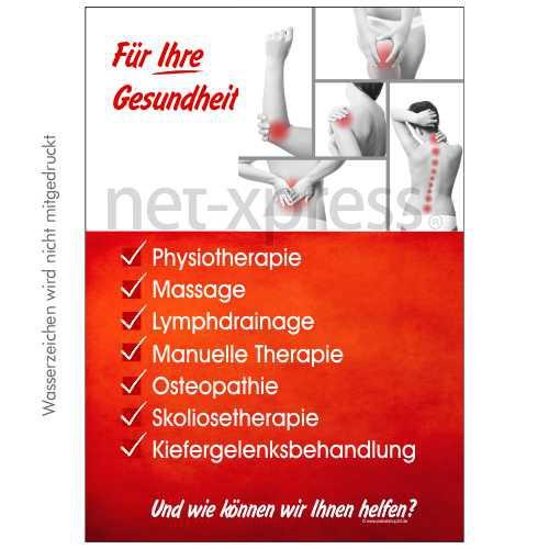 Poster Für Physiotherapie Praxis