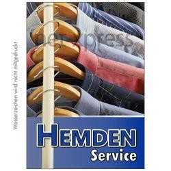 Plakat Hemdenservice