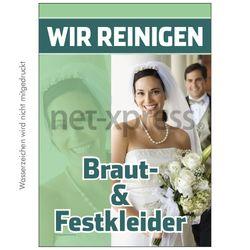 Plakat Braut- undd Festkleider