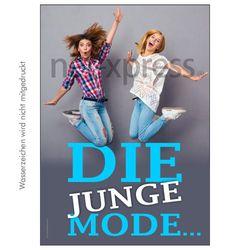 Plakat für junge Mode
