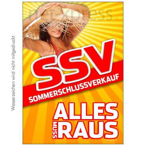Plakat zum SSV