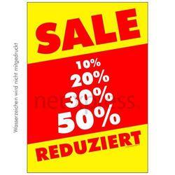 Auffälliges Sale-Plakat
