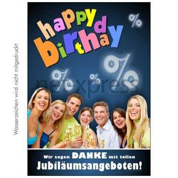 Poster Happy Birthday