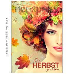 Plakat Den Herbst genießen