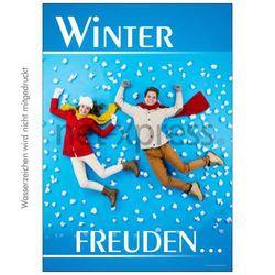 Plakat Winterfreuden