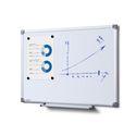 Whiteboard SCRITTO Profi 600 x 450 mm (Speziallackierung weiß, magnetisch) 001