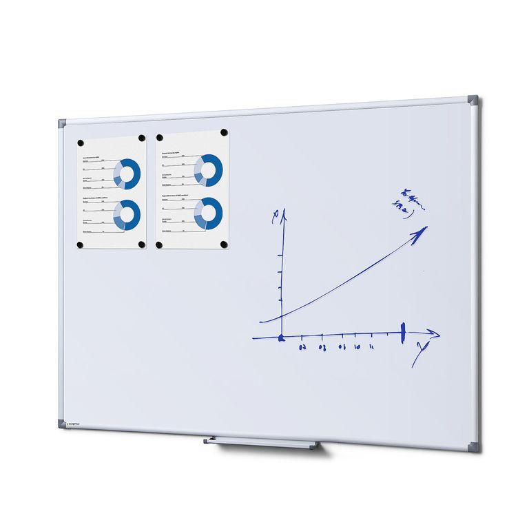 Whiteboard SCRITTO Profi 900 x 1200 mm (Speziallackierung weiß, magnetisch)