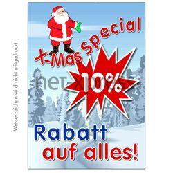 Plakat X-Mas-Sale