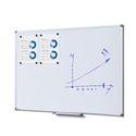 Whiteboard SCRITTO Premium 900 x 1200 mm (gehärtete Oberfläche, emailliert) 001