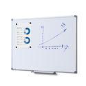 Whiteboard SCRITTO Profi 900 x 600 mm (Speziallackierung weiß, magnetisch) 001