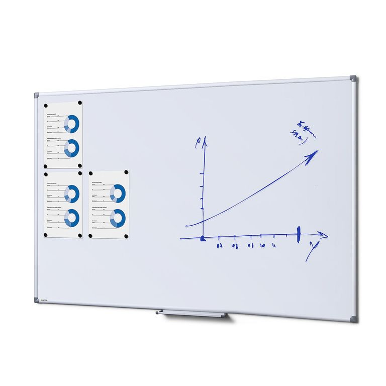 Whiteboard SCRITTO Profi 1000 x 1500 mm (Speziallackierung weiß, magnetisch)