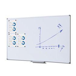 Whiteboard SCRITTO Premium 1000 x 1500 mm (gehärtete Oberfläche, emailliert) – Bild 1