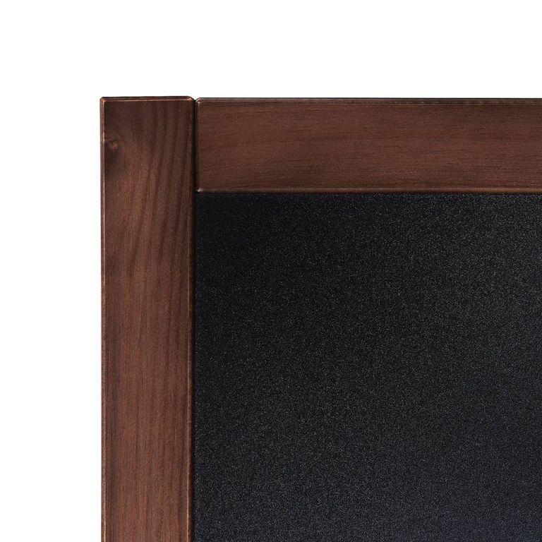 kreidetafel holz vintage look dunkelbraun 60x80 net. Black Bedroom Furniture Sets. Home Design Ideas