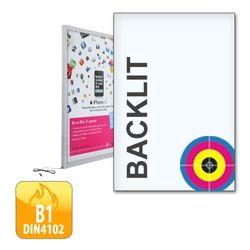 Plakat für Leuchtrahmen DIN A3 (297x 420 mm, Premium-Backlit-Film 200g/m²)