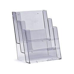 Standprospekthalter DIN A5 dreistufig 3C160 (18) – Bild 1