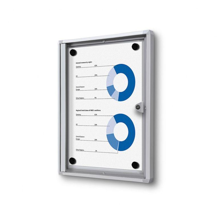 Schaukasten XS-Line 1 x DIN A4 Metallrückwand