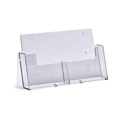 Standprospekthalter DIN A6 zweifach 2CA6 (48) – Bild 1