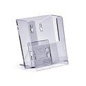 Stand-/ Wandprospekthalter DIN A6 einstufig WPA6 (80) 001