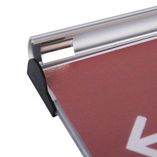 Türschild / Hinweisschild SNAP SS 155 x 155mm - Bild 3 (vergrößert)