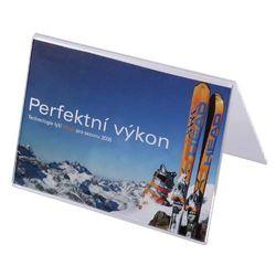 Werbeaufsteller A-Ständer Acryl DIN A7 (Querformat)