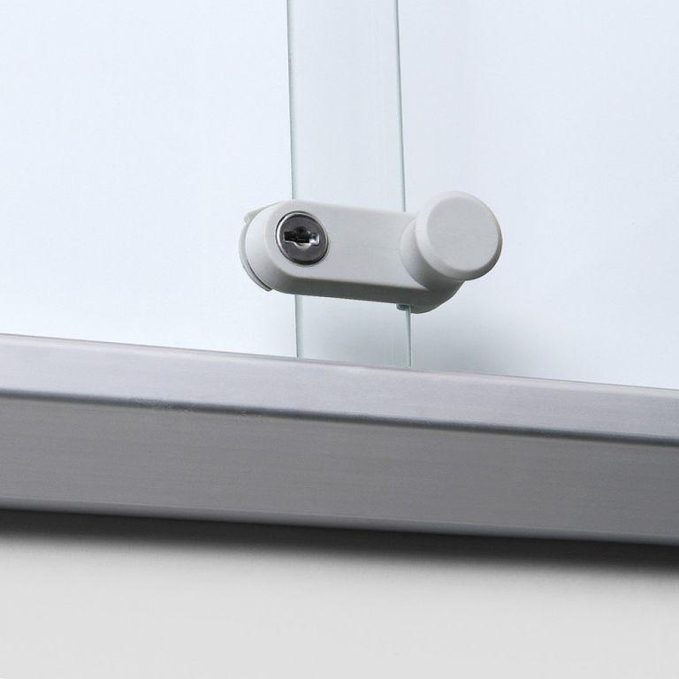 Schaukasten SL-Line 15 x DIN A4, B1 Norm, ESG, Sicherheitsecken - Bild 2 (vergrößert)