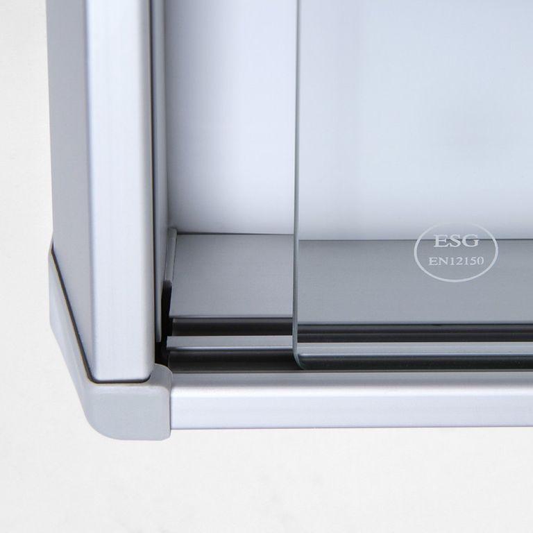 Schaukasten SL-Line 10 x DIN A4, B1 Norm, ESG, Sicherheitsecken - Bild 3 (vergrößert)