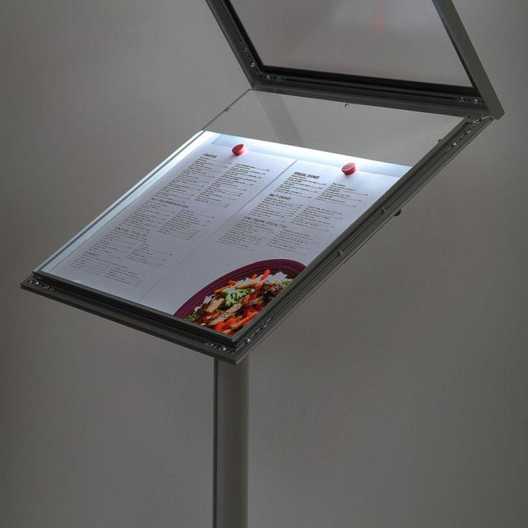 MenuBoard Z-Line LED 2 x DIN A4 - Bild 2 (vergrößert)