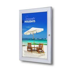 abschließbarer Schaukasten / Plakatrahmen P-Line DIN A3