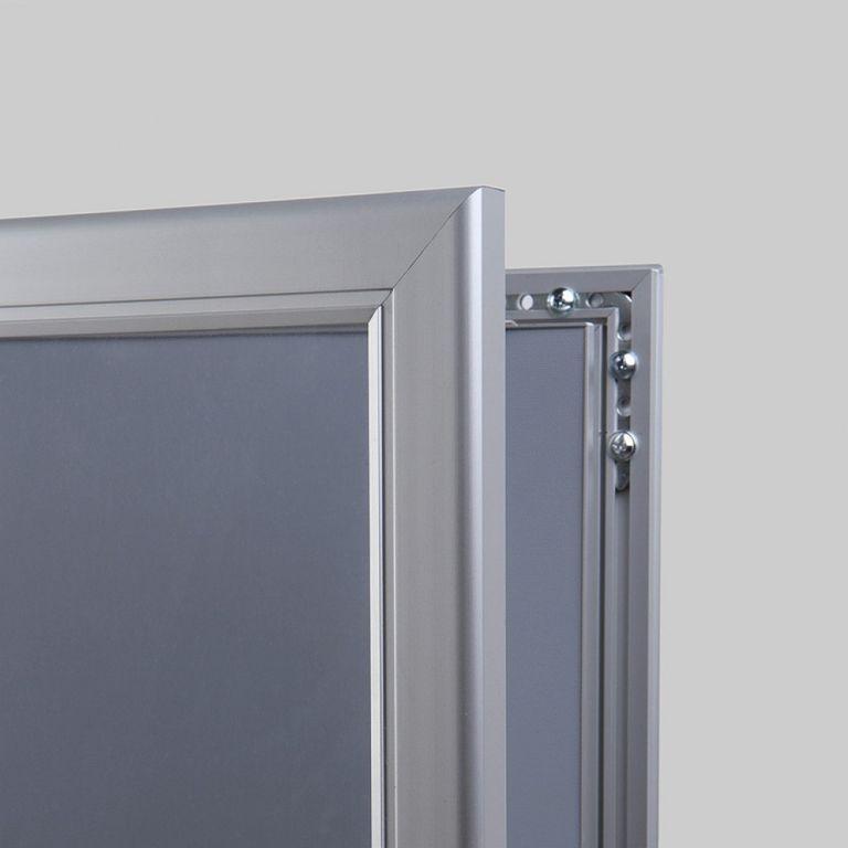 abschließbarer Schaukasten / Plakatrahmen P-Line DIN A1 | net-xpress.de