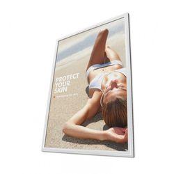 Klapprahmen CLASSIC DIN B1 70x100cm 25mm Profil weiß