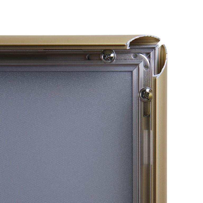 Klapprahmen CLASSIC DIN A1 25mm Profil gold - Bild 3 (vergrößert)