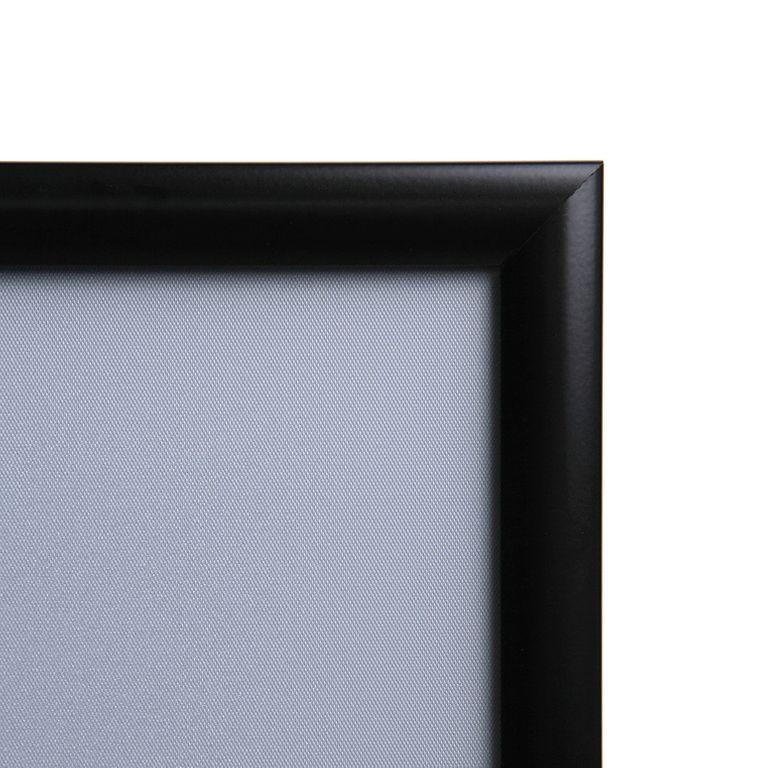 klapprahmen classic din a1 25mm profil schwarz net. Black Bedroom Furniture Sets. Home Design Ideas