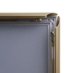 Klapprahmen CLASSIC DIN A4 25mm Profil gold – Bild 3