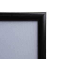 Klapprahmen CLASSIC DIN A4 25mm Profil schwarz – Bild 2