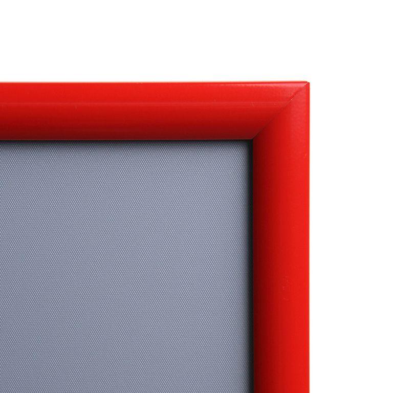 Klapprahmen CLASSIC DIN A4 25mm Profil rot - Bild 3 (vergrößert)