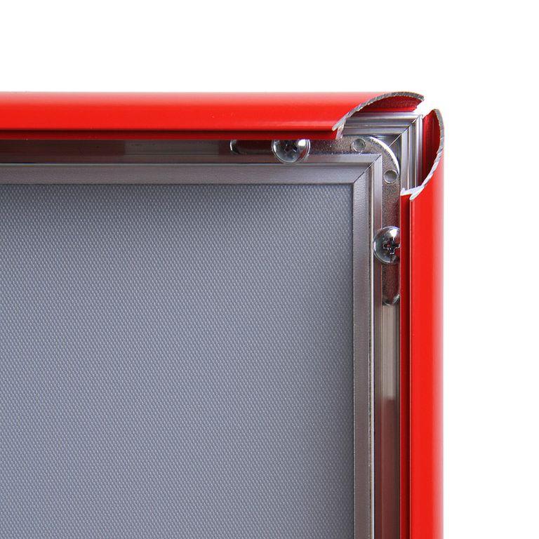 Klapprahmen CLASSIC DIN A4 25mm Profil rot - Bild 2 (vergrößert)