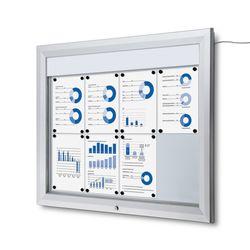 Schaukasten T-Line LED 8 x DIN A4 – Bild 1