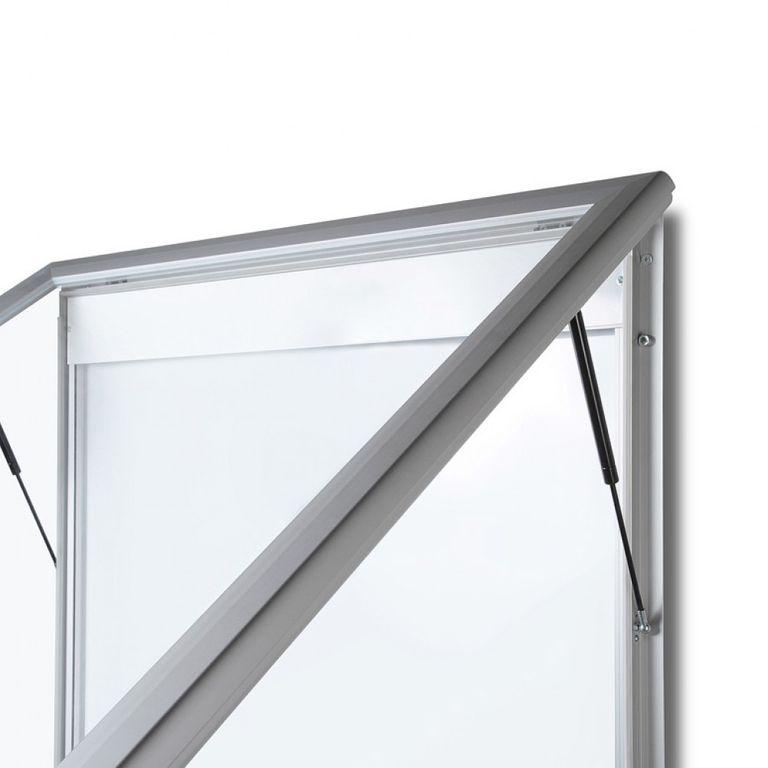Schaukasten T-Line LED 9 x DIN A4 - Bild 2 (vergrößert)