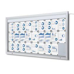 Schaukasten T-Line LED 27 x DIN A4 – Bild 1