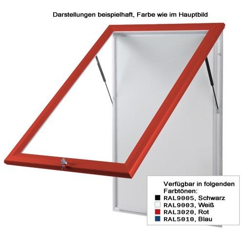 Schaukasten T-Line 6 x DIN A4 weiß - Bild 2 (vergrößert)