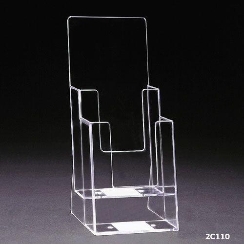 Standprospekthalter DIN lang zweistufig 2C110 (32) - Bild 2 (vergrößert)
