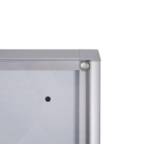 Schaukasten XS-Line 1 x DIN A4 Metallrückwand, B1 Norm - Bild 3 (vergrößert)