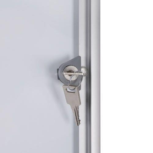 Schaukasten XS-Line 4 x DIN A4 Metallrückwand, B1 Norm - Bild 2 (vergrößert)
