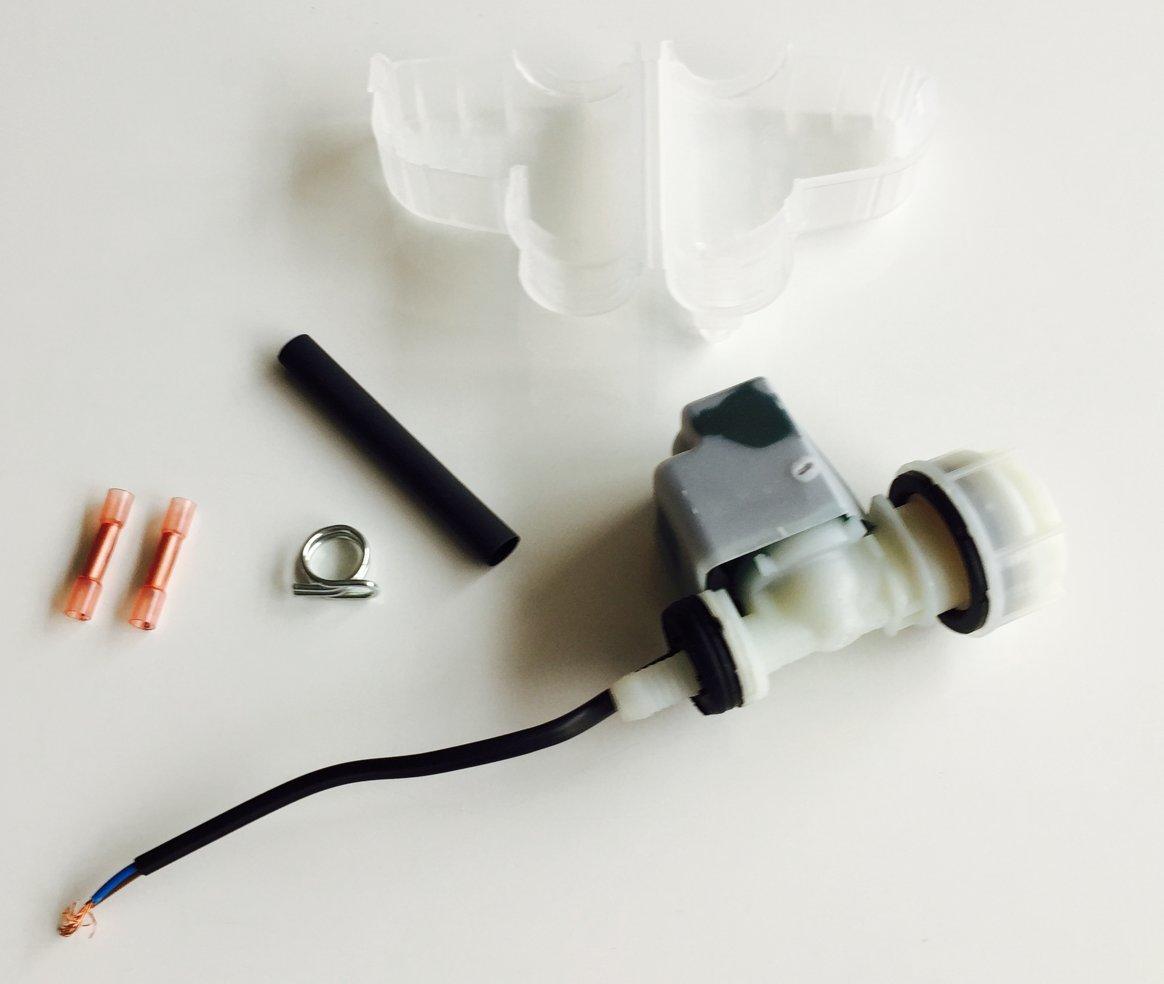 Magnetventil Ventil Reparatursatz Geschirrspüler Original Bosch Siemens 00645701