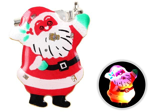 Blinki Anstecker Blinky Brosche Pin Button Weihnachtsmann 51