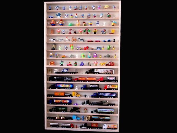 V57 Vitrine Figuren, Teves, Trucks, Setzkasten Modellautos H0