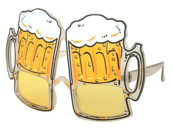 Bierbrille Partybrille  Kühles Blondes  01