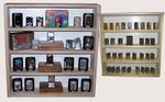 Alsino V-07 Wall Showcase Collector`s Display Case Wood Cabinet 19,69  x 20,47  x 4,72