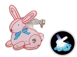 Blinki Anstecker Blinky Brosche Pin Button Hase 176